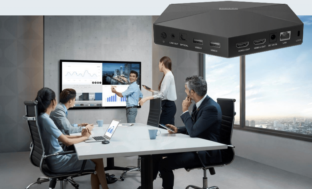 MAXHUB-Display Wireless Mirroring BOX WB01