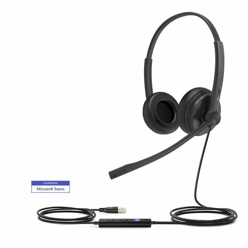 שיחות ועידה מערכת ראש USB Plug-and-Play ארגוקום Yealink UH34